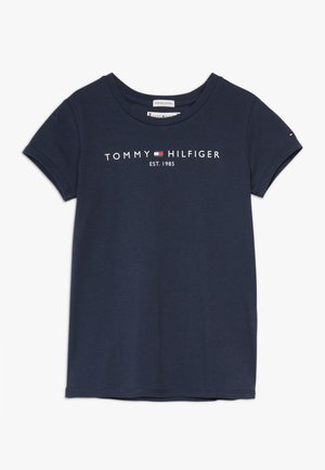 ESSENTIAL TEE - T-shirt imprimé - blue
