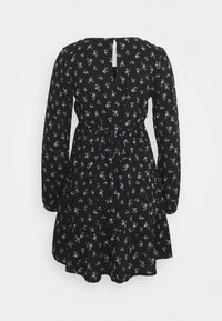 Hollister Co. - PRINT SHORT DRESS - Day dress - black ground - 1