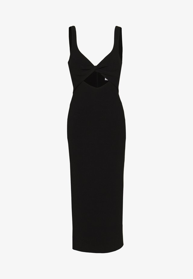 JOELLE MIDI DRESS - Cocktailkjoler / festkjoler - black
