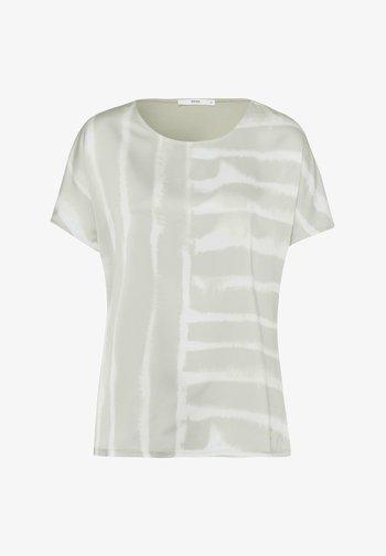 STYLE CAELEN - Print T-shirt - khaki