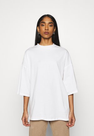 OBJVERITA TEE - Basic T-shirt - cloud dancer