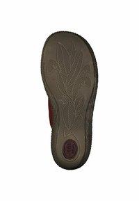 Jana - T-bar sandals - red - 3