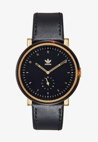 Adidas Timing - DISTRICT - Horloge - black tortoise/gold-coloured/black - 1