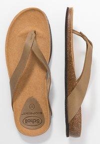 Scholl - TISTOIS - Sandalias de dedo - kaki - 3