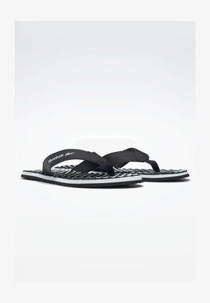 MISCES UNI SWIM SLIDES - T-bar sandals - black
