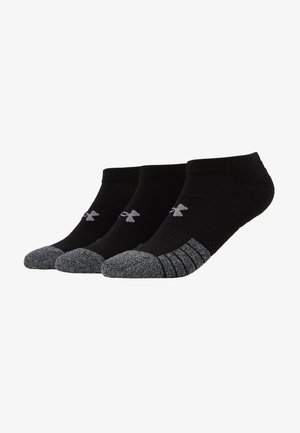 HEATGEAR 3 PACK - Trainer socks - black/steel