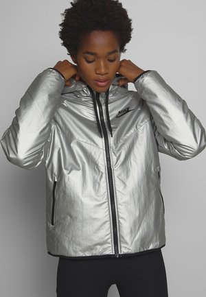 Light jacket - metallic silver