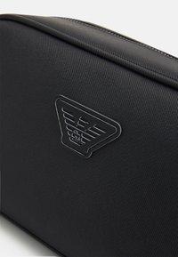 Emporio Armani - UNISEX - Wash bag - black - 4