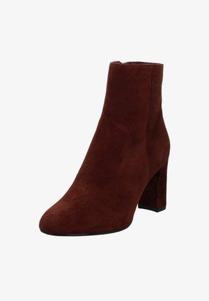 URGIDA KS - Ankle boots - bordeaux