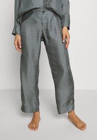 ASCENO - THE ANTIBES - Pantaloni del pigiama - agave wave - 0
