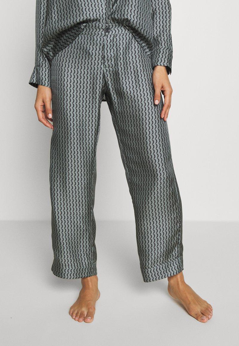 ASCENO - THE ANTIBES - Pantaloni del pigiama - agave wave