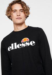 Ellesse - GRAZIE - Camiseta de manga larga - black - 3