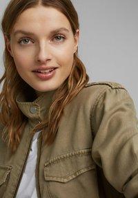 Esprit - Summer jacket - light khaki - 4