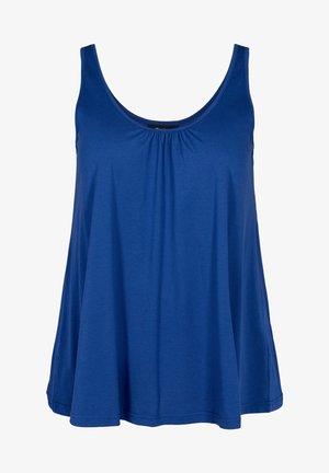 Top - twilight blue