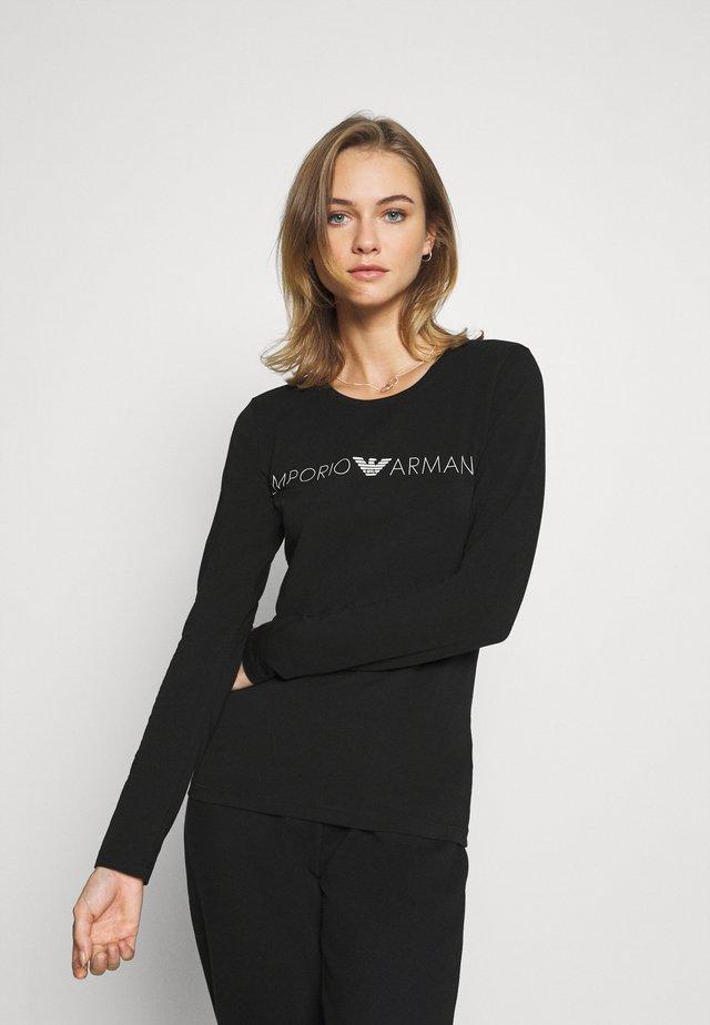 Maglia del pigiama - nero