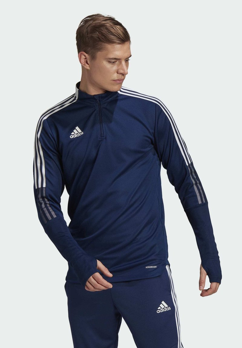 adidas Performance - TIRO21 TR TOP - Longsleeve - blue