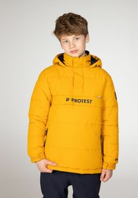 Protest - DYLAN JR  - Snowboard jacket - dark yellow - 1