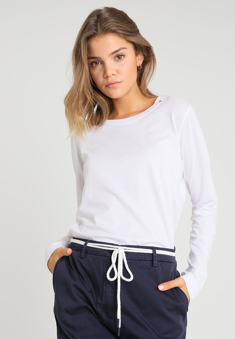 Replay - Long sleeved top - optical white