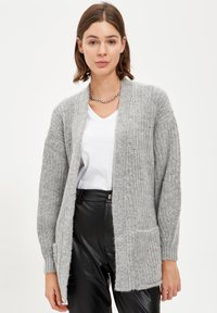 DeFacto - Cardigan - grey - 4