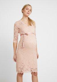 MAMALICIOUS - MLMIVANA DRESS - Vestido de cóctel - silver pink - 0
