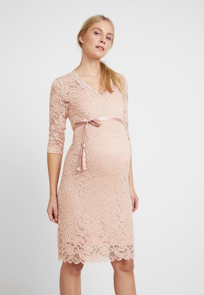 MAMALICIOUS - MLMIVANA DRESS - Vestido de cóctel - silver pink