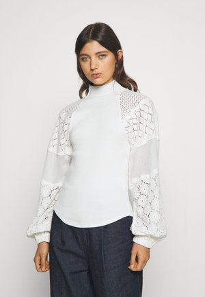 LOVE TOO MUCH TOP - Jersey de punto - ivory