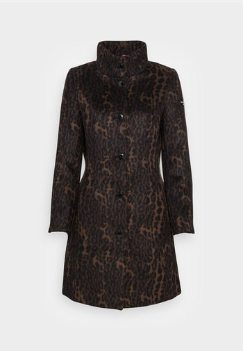 LEXINGTON - Klasický kabát - chocolate bar