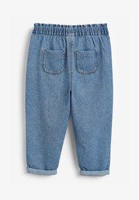 Next - ELASTICATED WAIST  - Straight leg jeans - blue - 1