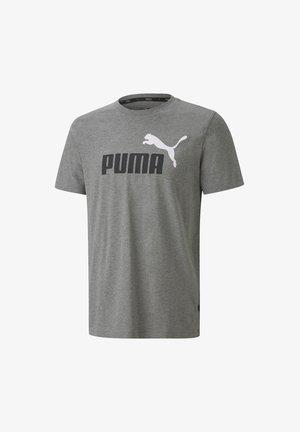 LOGO TEE - T-shirt con stampa - grau