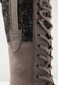 Pier One - Lace-up boots - grey - 2