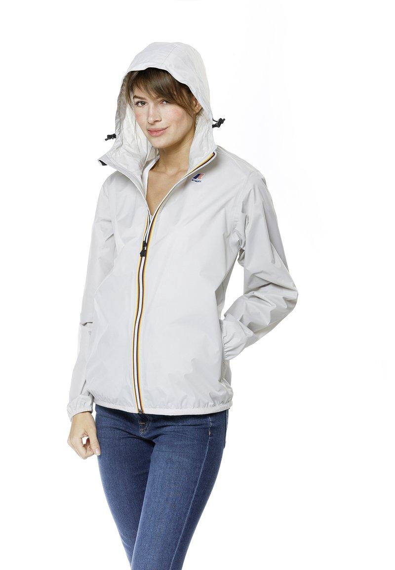 K-Way - UNISEX LE VRAI CLAUDE - Zip-up hoodie - grey mid
