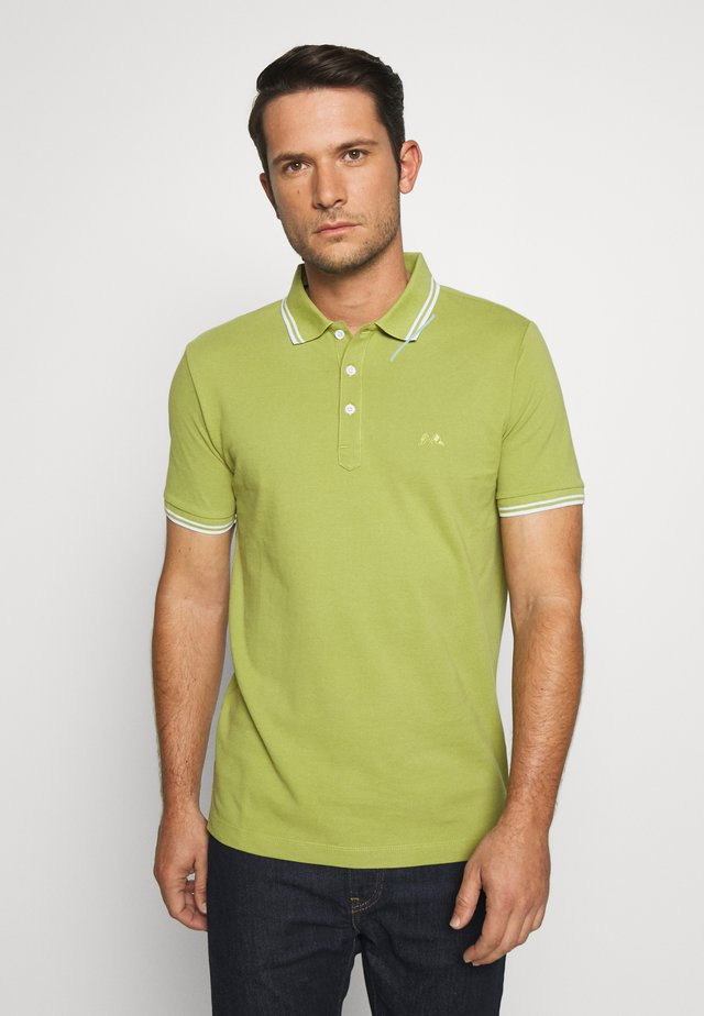 CONTRAST PIPING - Polo - green fern