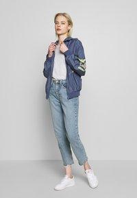 Urban Classics - LADIES INKA BATWING JACKET - Summer jacket - vintage blue - 1