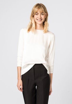 Long sleeved top - crème