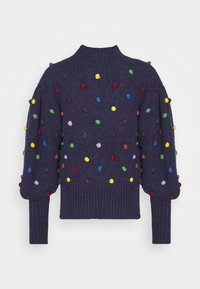 Farm Rio - COLORFUL DOTS  - Jumper - navy - 7