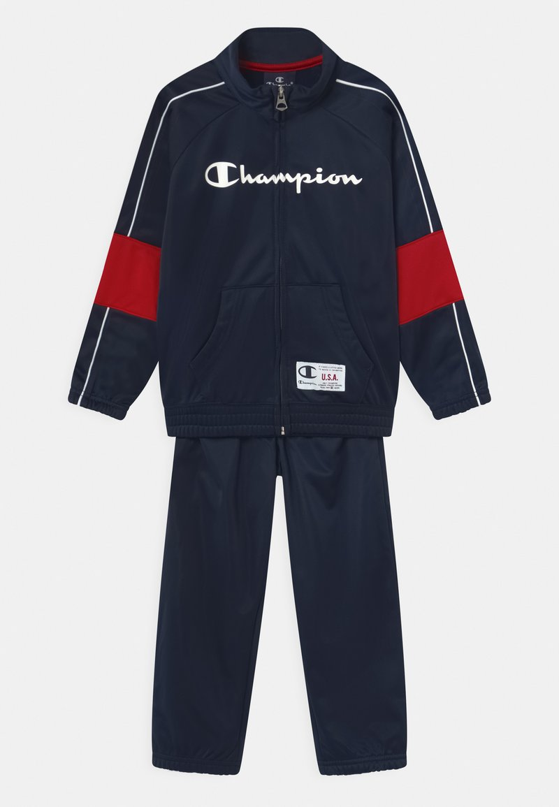 Champion - FULL ZIP SET UNISEX - Tracksuit - dark blue