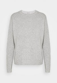 FTC Cashmere - Stickad tröja - silver stone - 0