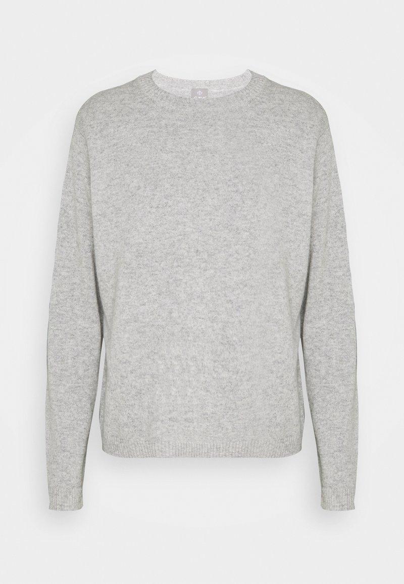 FTC Cashmere - Stickad tröja - silver stone