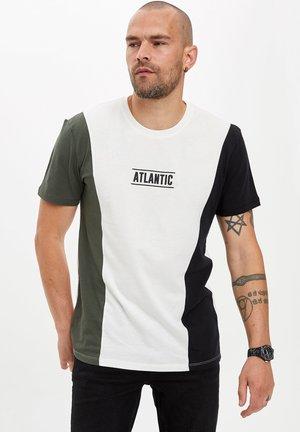 T-shirt con stampa - ecru