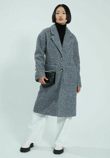 Classic coat - grau meliert