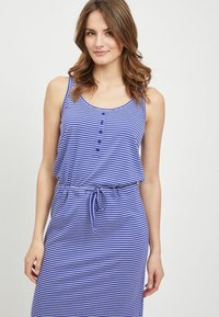 Object - OBJSTEPHANIE MAXI DRESS  - Maxi dress - clematis blue - 3