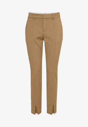Pantalon classique - indian tan
