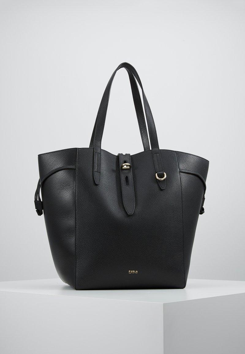 Furla - NET TOTE - Tote bag - onyx