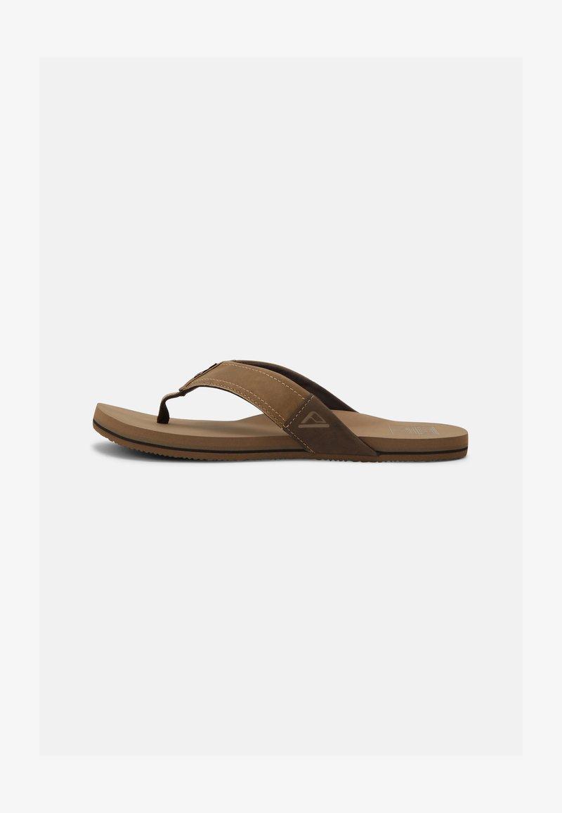 Reef - REEF NEWPORT - T-bar sandals - bronze