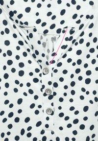 Cecil - MIT PUNKTEN - Long sleeved top - weiß - 4