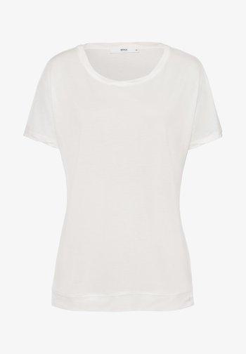 STYLE CAELEN - Basic T-shirt - offwhite