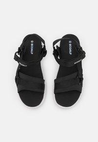 Ecoalf - SOFIA - Platform sandals - black - 5