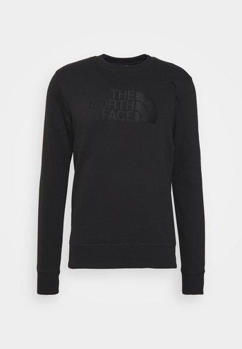 DREW PEAK CREW - Sweatshirt - black