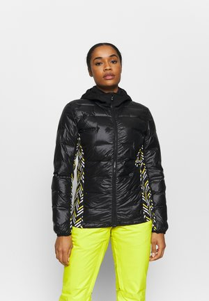 LADIESJACKET - Skijacke - black/sunflower