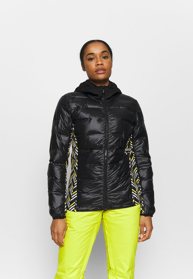 LADIESJACKET - Veste de ski - black/sunflower